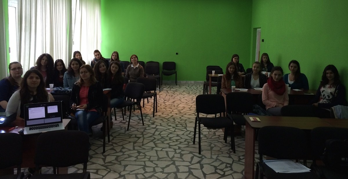 The participants in Slobozia enjoyed the interactive and engaging training.