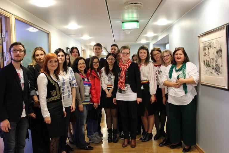 Rumenske Studenter Besøker Norge