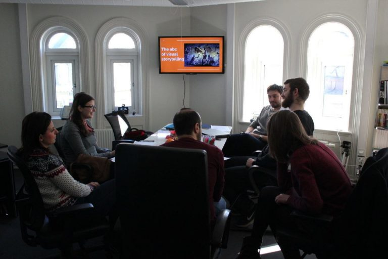 The Young Initiative Association of Romania Visits Norsensus Mediaforum for Experience Exchange