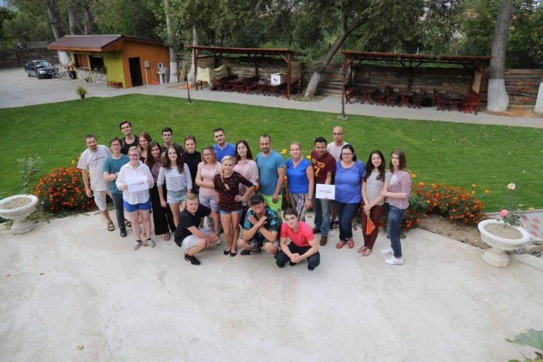 Young Trainers from Norway, Poland and Romania Met in Transylvania