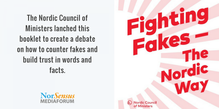 Fighting Fake News – The Nordic Way